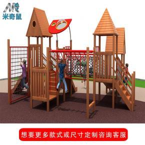 必威体育娱乐客户端场主题多功能组合滑梯 幼儿园小型户外木质滑梯必威体育娱乐客户端设备批发
