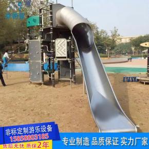 非标定制必威体育娱乐客户端设备户外大小型不锈钢组合滑梯儿童拓展冒险必威体育娱乐客户端设施